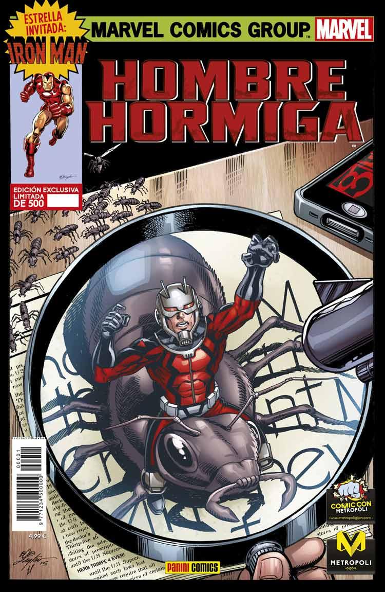 Ant-man Hombre Hormiga_Panini3