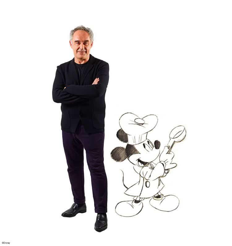 Ferran Adriá y Disney