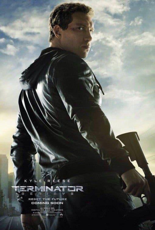 Terminator Genésis. Kyle Rise