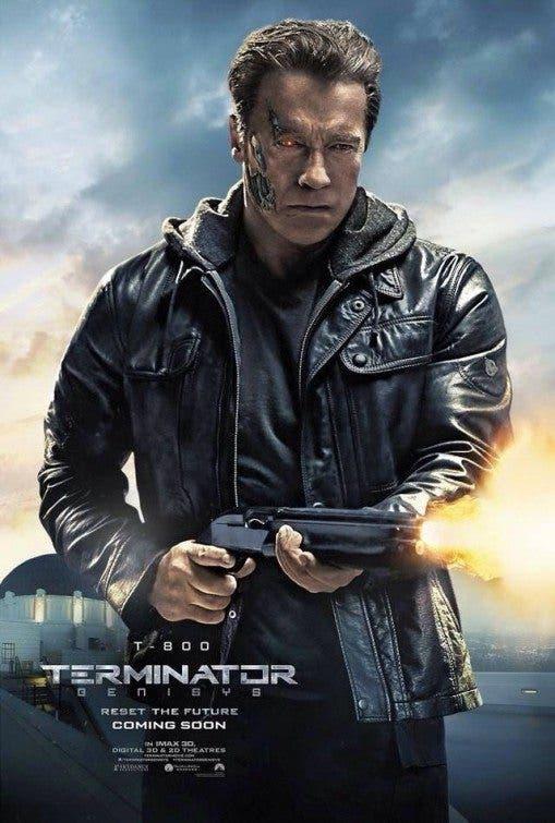 Terminator Genésis. T-800