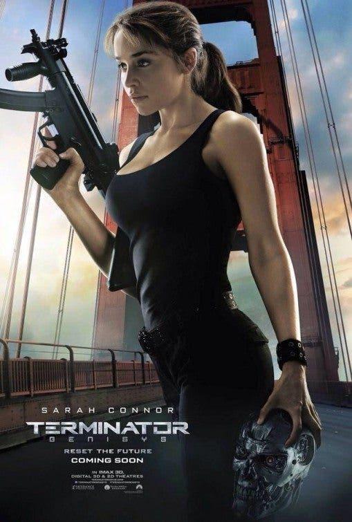 Terminator: Genésis. Sarah Connor