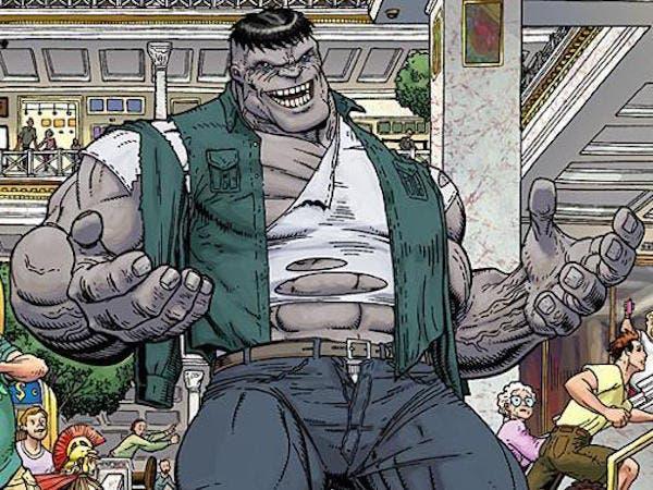 Hulk Gris Vengadores: La era de Ultron