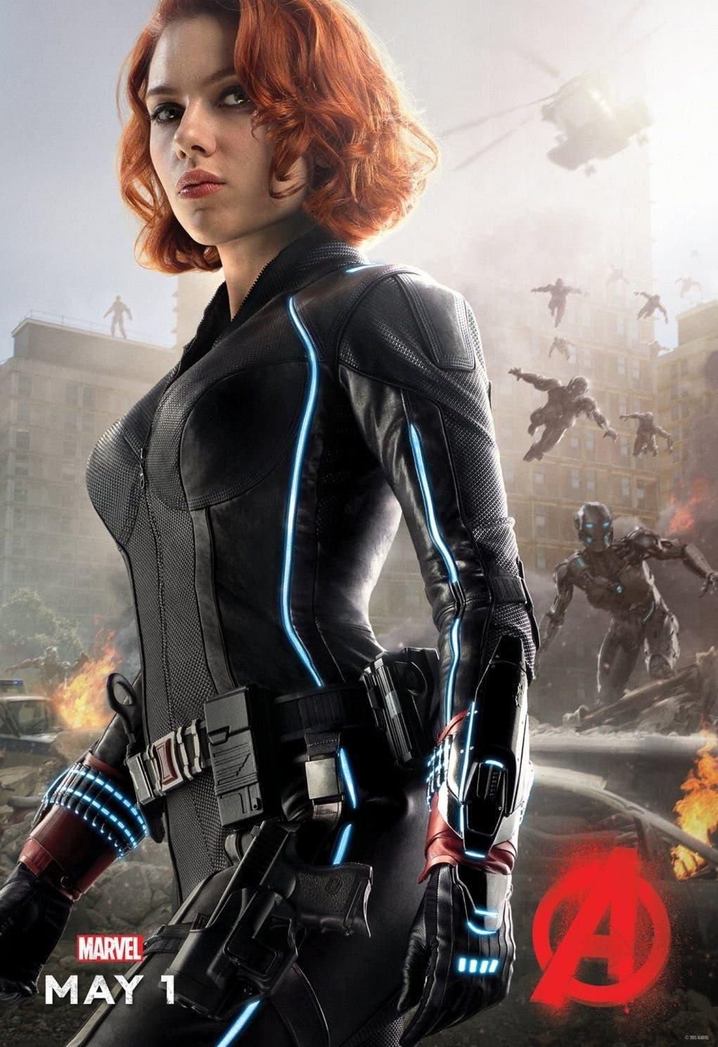 viuda negra Scarlett Johansson