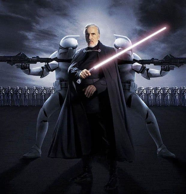 Christopher Lee Conde Dooku