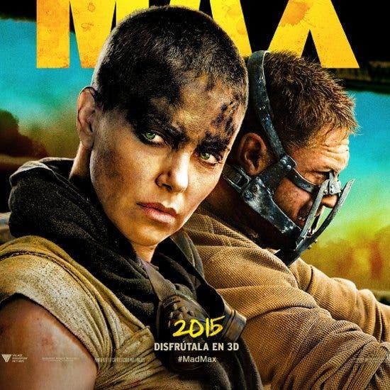Poster de Mad Max Furia en la carretera