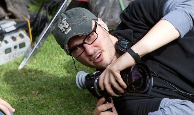 Josh Trank en el rodaje de CHRONICLE.