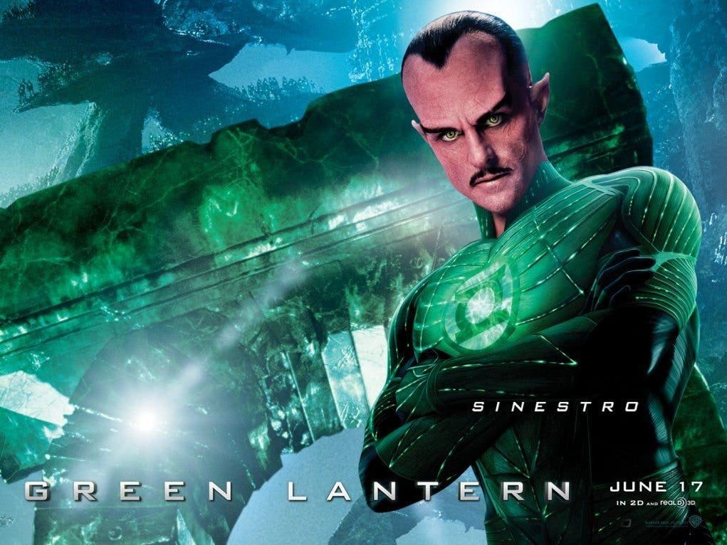 Mark Strong Sinestro