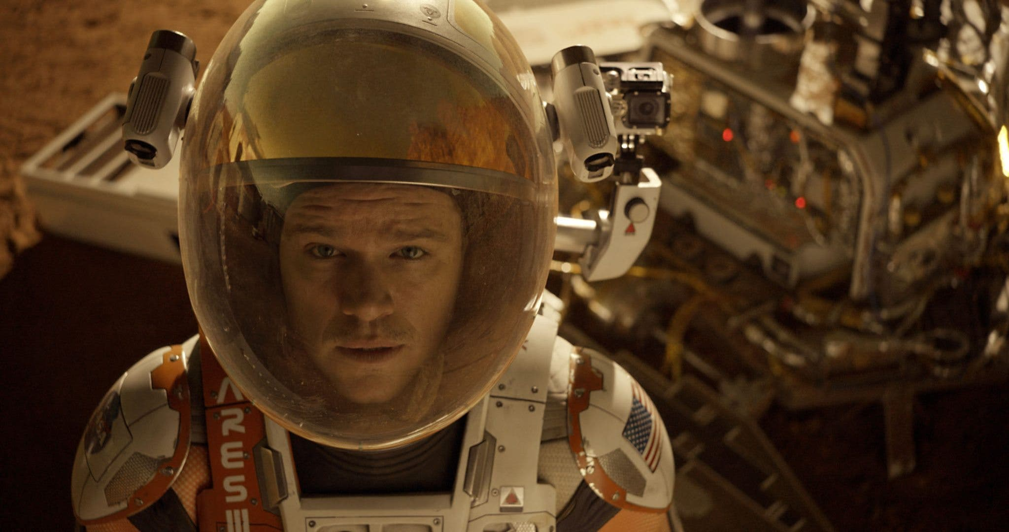 Matt Damon. Marte. The martian