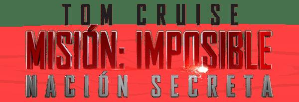 Misión imposible nación secreta logo