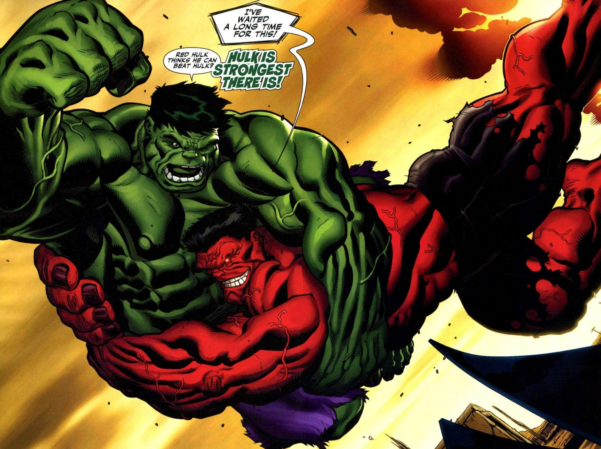 ¿Veremos a Red Hulk contra Hulk en Capitán América: Civil War?
