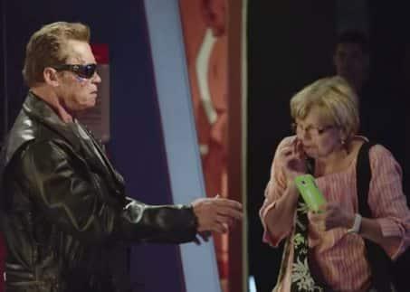 Arnold Schwarzenegger, Terminator, museo de cera,