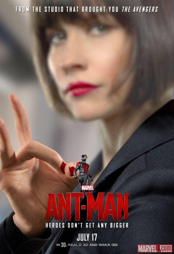 Poster Hope van Dyne Ant-man