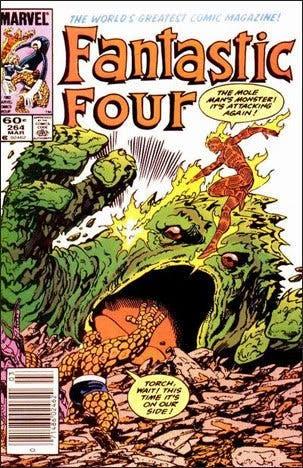 El inicio de Los Cuatro Fantásticos en 1961