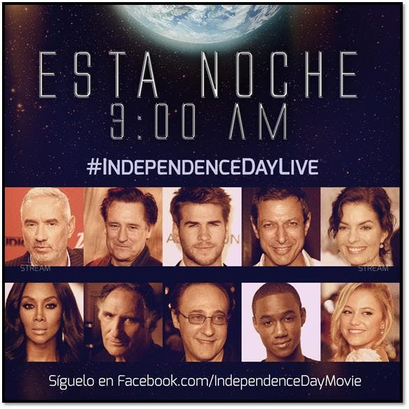 independence Day Live