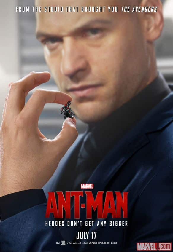 Darren Cross poster Ant-man