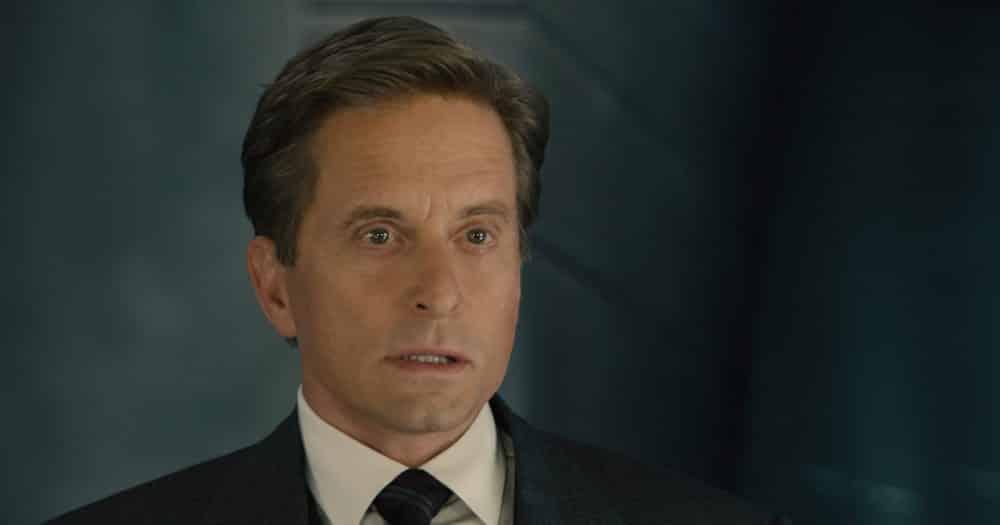 Imagen de Michael Douglas como Hank Pym en Ant-man