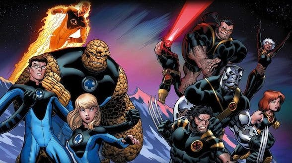 Los 4 fantásticos y X-men