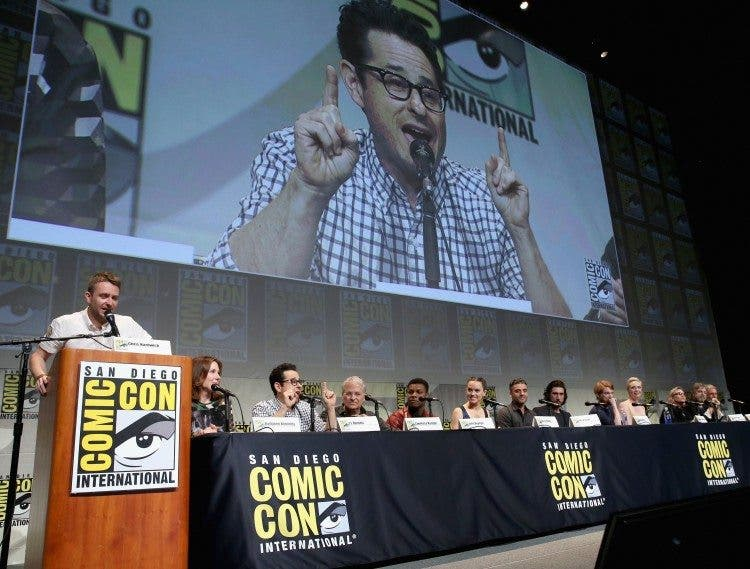 Star Wars: The Force Awakens Panel At San Diego Comic Con - Comic-Con International 2015