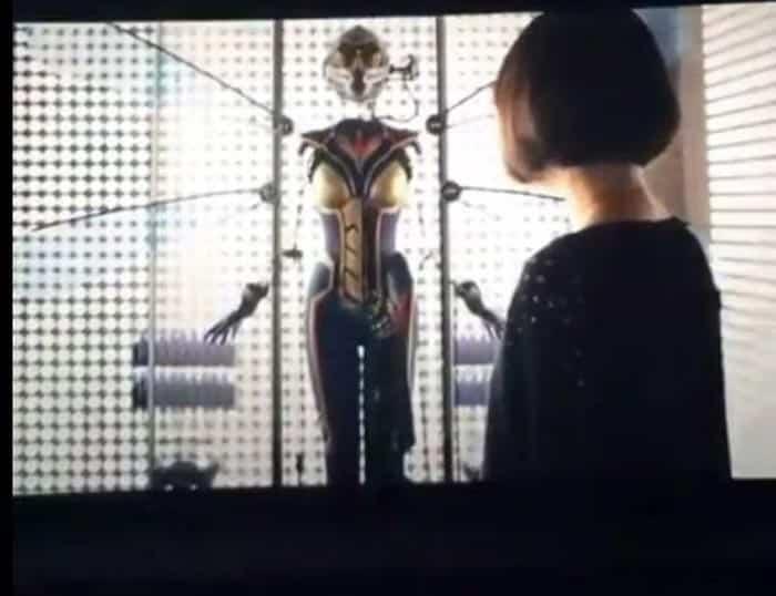 Fotograma filtrado de la película de 'Ant-Man': ¡el traje de Avispa!