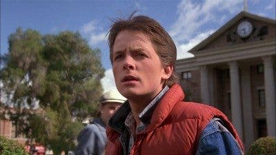 Fotograma de la película 'Regreso al futuro' (1985).