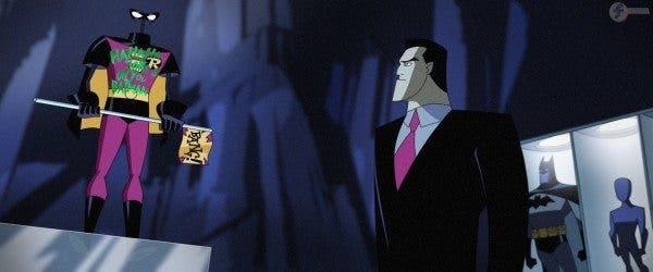 Batman v Superman monumento Robin