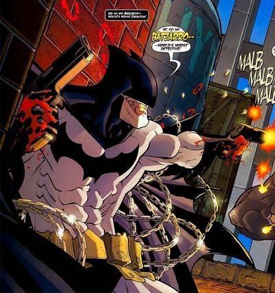 Batzarro, uno de los villanos villanos más ridículos de los cómics