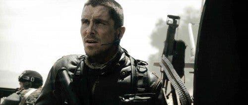 Christian Bale en un fotograma de 'Terminator Salvation' (2009).