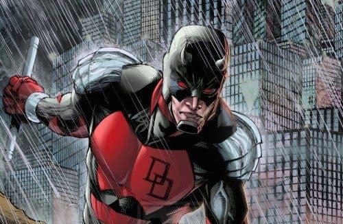Ilustración del Daredevil de Scott McDaniel.