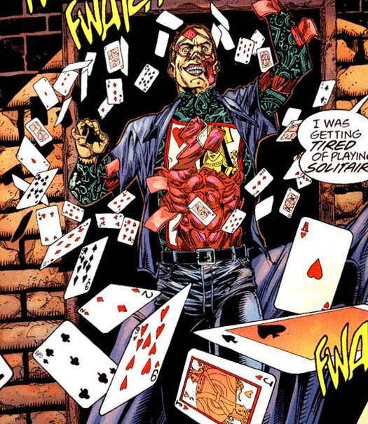Ilustración de Double Down en los cómics de Flash.