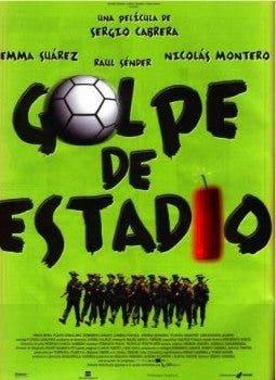 Cartel de 'Golpe de estadio' (1999).