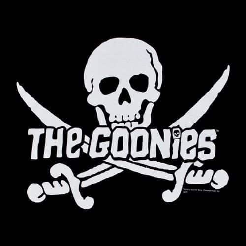 Una de las portadas de 'The Goonies' (1985).