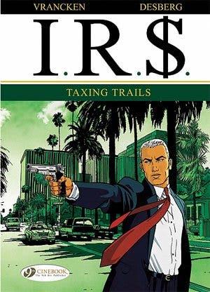 Portada de uno de los cómics de 'IRS'.