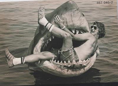 Steven Spielberg y su queridísima creación.