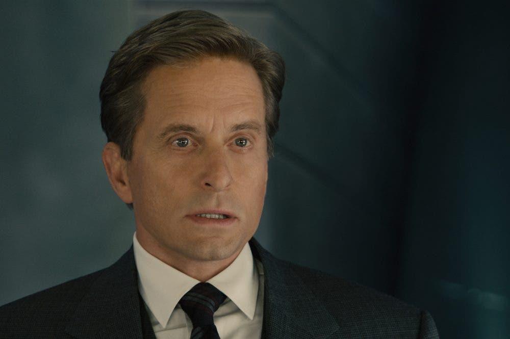 Michael Douglas como Hank Pym