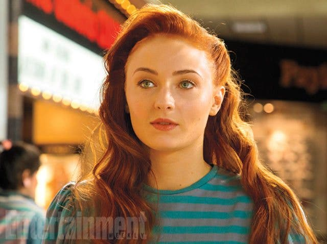Sophie Turner es Jean Grey en X-Men: Apocalipsis