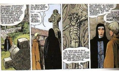 Viñetas sacas del cómic 'La balada de las landas perdidas'.