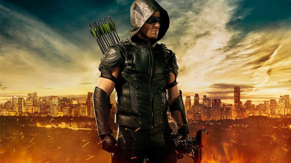 Nuevo traje de Green Arrow Comic Con de San Diego