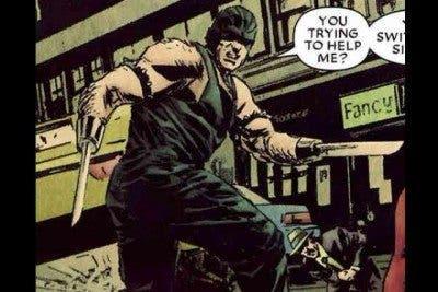 Puños de Navaja, uno de los villanos más patéticos de los cómics