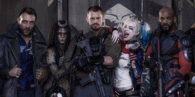 Imagen de parte del reparto de 'Escuadrón Suicida'.