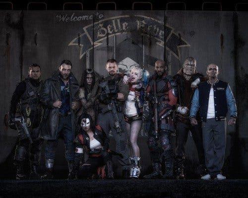Imagen promocional de los protagonistas de 'Suicide Squad'.