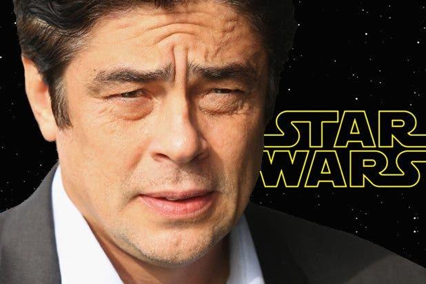 Benicio del Toro estará en Star Wars