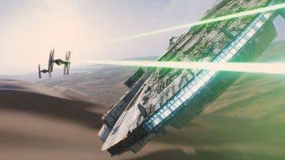 Fotograma del tráiler de 'Star Wars: El despertar de la fuerza'.