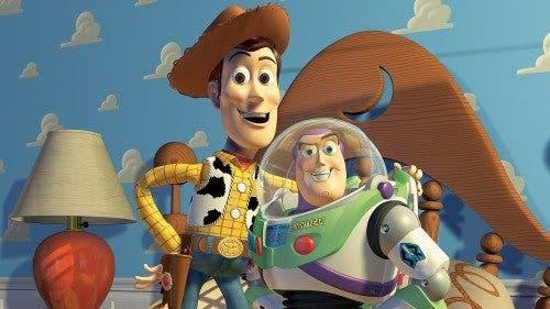 Imagen de Woody y Buzz Lightyear en 'Toy Story' (1995).