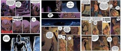 Viñetas sacadas del cómic 'XIII. Mistery'.
