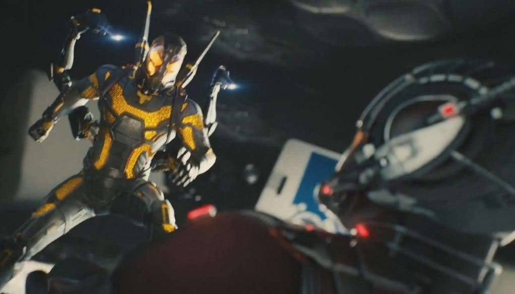Yelow Jacket Ant-man