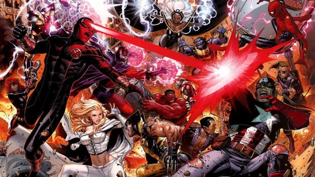 los vengadores vs X-men