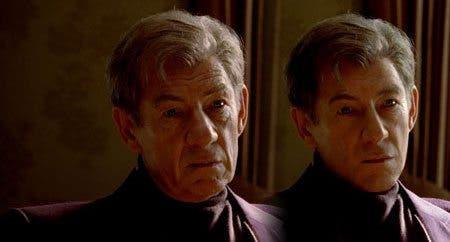 Magneto (Ian McKellen) de joven