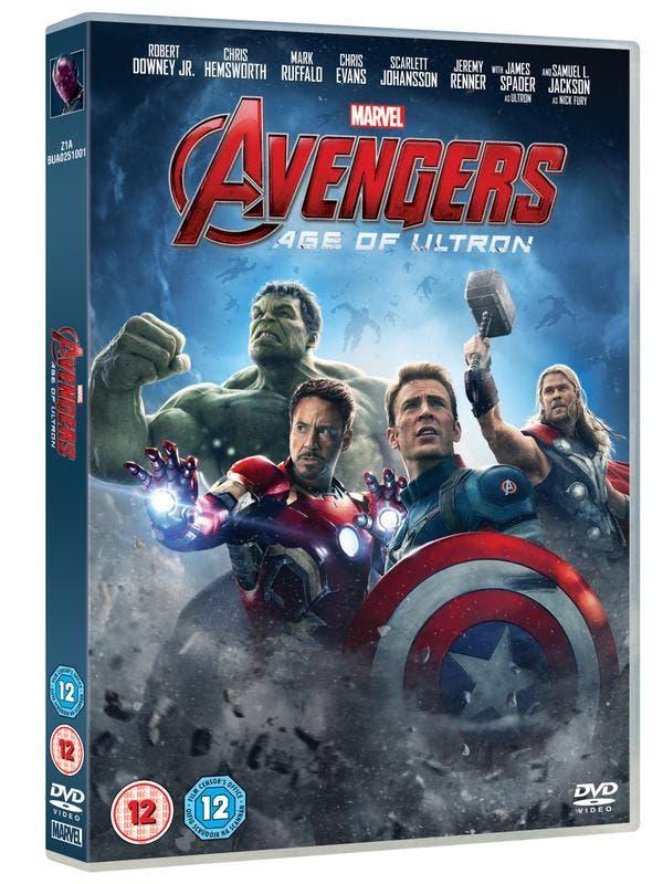 portada age of ultron dvd