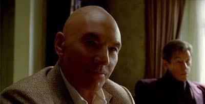 Charles Xavier (Patrick Stewart) de joven