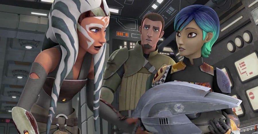 Ahsoka en Star Wars rebels